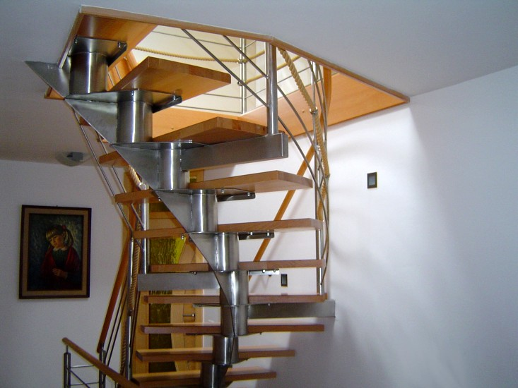 Production Of Stairways, Fences And Balconies Made Of Stainless Steel ...