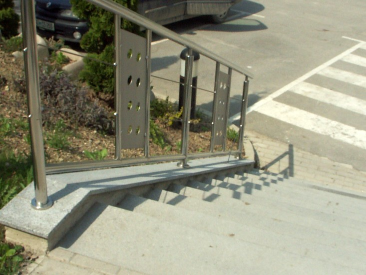 ... Production Of Stairways, Fences And Balconies Made Of Stainless Steel